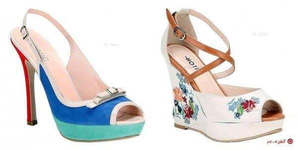 کفش های تابستانه
