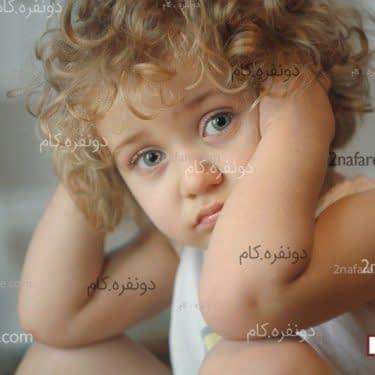 کودک پریشان