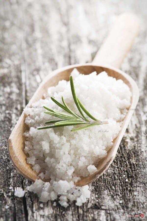 نمک، فرآورده ای برای زیبایی