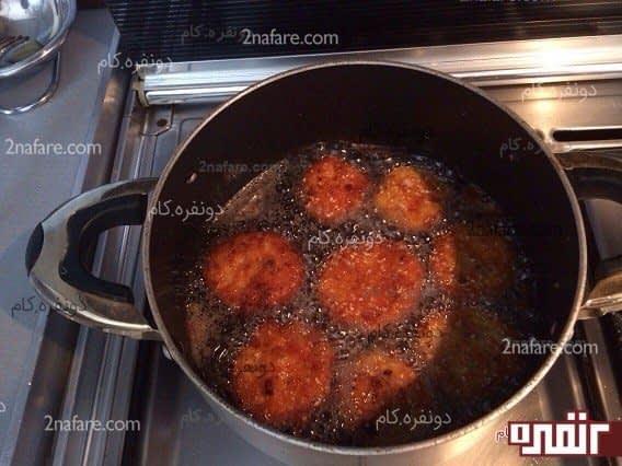 طرز تهیه ناگت مرغ