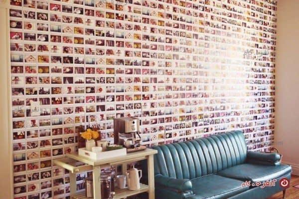 عکس های یادگاری همیشه می توانند زیباترین بخش خانه را بسازند