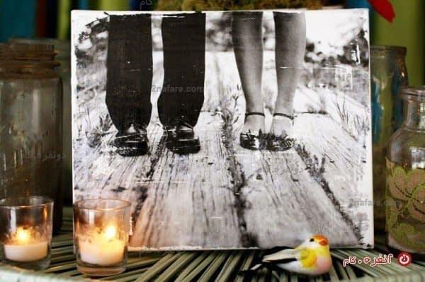 عکس و شمع، ترکیبی رمانتیک برای گوشه ای از منزل خواهد بود