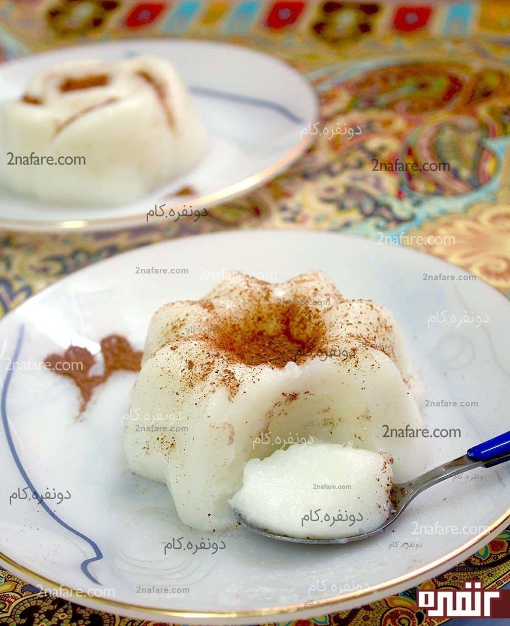 شیر برنج برای 20 نفر Chocolate Kheer Recipe. kheer-recipe-sugar-milk.
