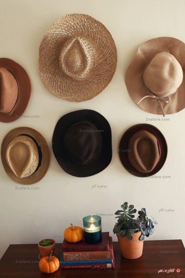 مجموعه ای از کلاه ماسک یا کپی تابلوهای نقاشی مشهور، می تواند زیبنده ی گوشه ای از منزل یا تمام دیوارتان باشد