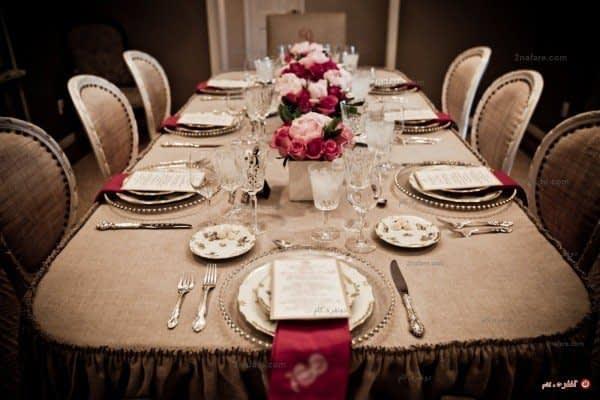 میز شام مجلسی