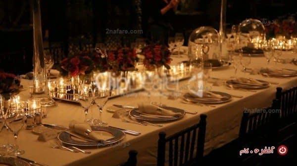 میز مجلس شام