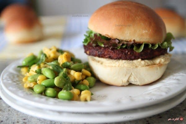 همبرگر کوچولوی سلامت