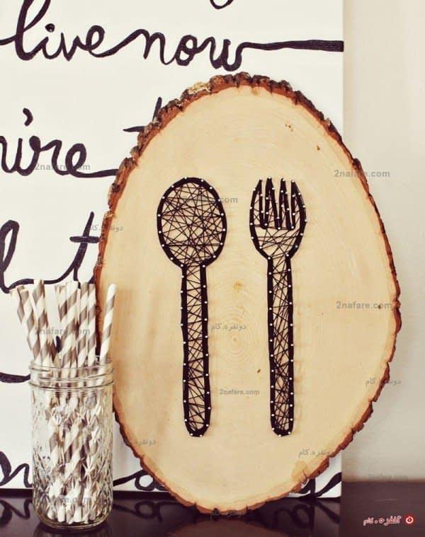 کار دستی گرافیکی برای دیوار یا روی میز