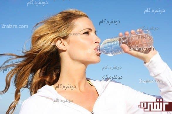 تا می توانید آب بنوشید