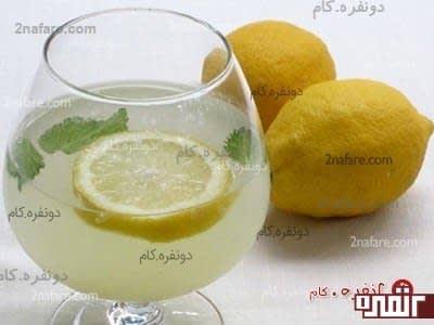 حداقل روزی یک بار نوشیدنی حاوی لیمو