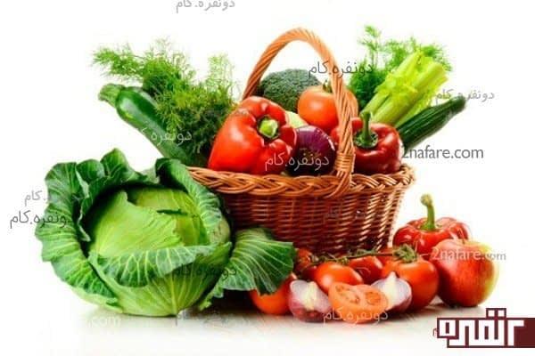 سبزیجات سالم برای داشتن بدن سالم