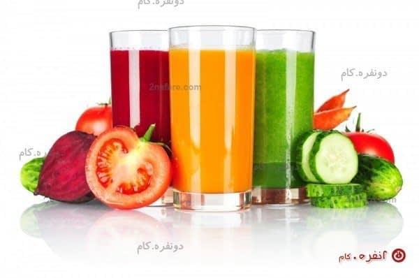 نوشیدنی های میوه و پاکسازی کبد