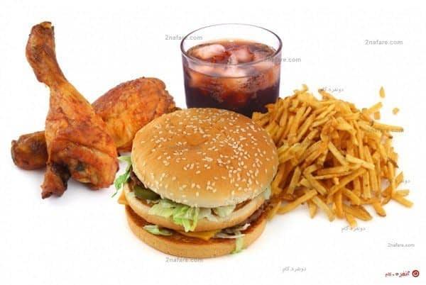 فست فود، و خوراکی های مضر برای کبد