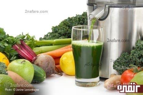 روزه ی آب میوه و سبزیجات