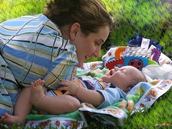 شروع رابطه ی عاطفی با کودک
