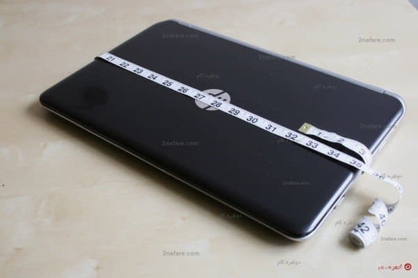 اندازه زدن لپ تاپ