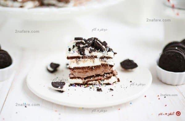 بفرمایید کیک بستنی!