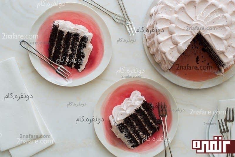 چند تزیین کیک خانگی زیبا و آسان • دونفره