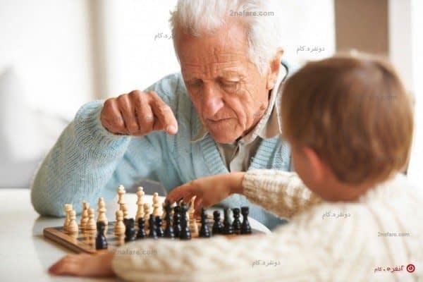 شطرنج و تاثیر آن بر سلامت ذهنی سالمند