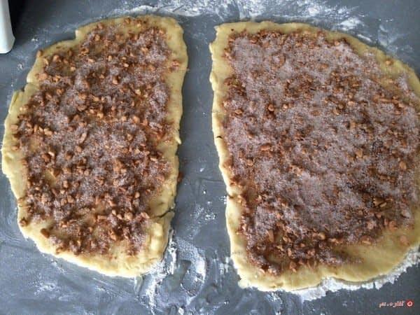 مواد میانی بر روی خمیر