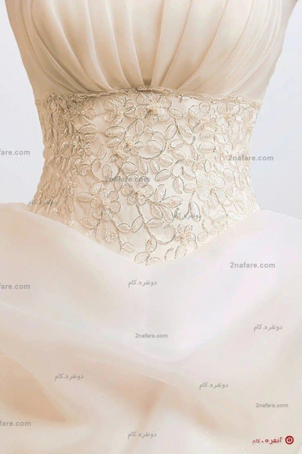 لباس عروس خیلی پفی