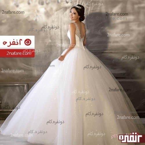 عکس لباس عروس پف دار