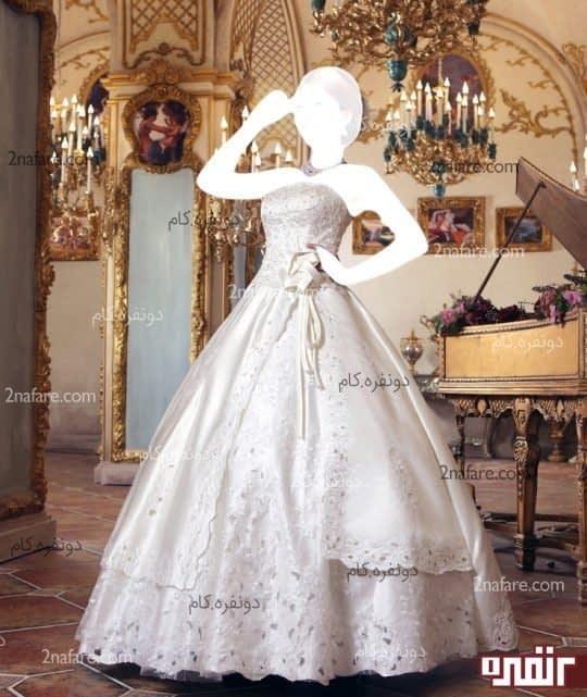 لباس عروس پفی و زیبا