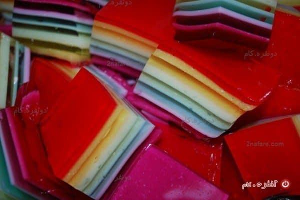 ژله رنگین کمان