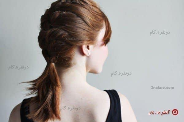 بافتی زیبا، حتی برای موهای کوتاه