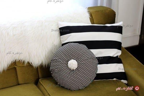 بالشتک های نو برای کاناپه