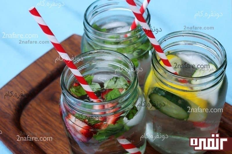 روحی شاداب و سرحال با نوشیدنی های ساده و فانتزی