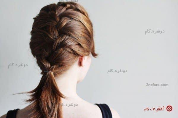 مدل موی بافت فرانسوی