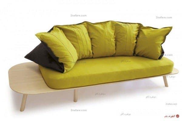 کاناپه مدرن با طراحی سبک