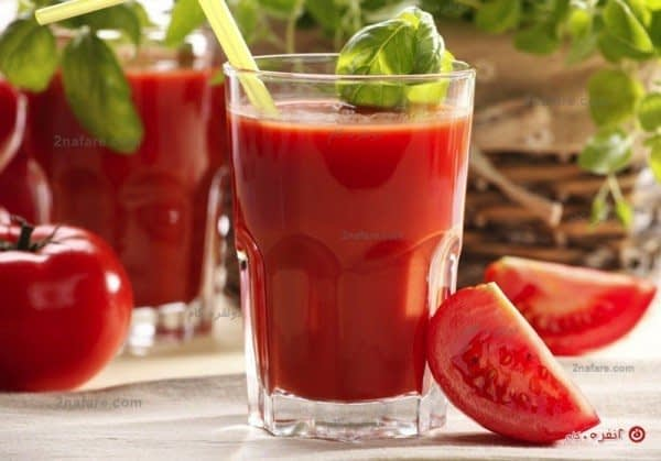 آب گوجه فرنگی بنوشید