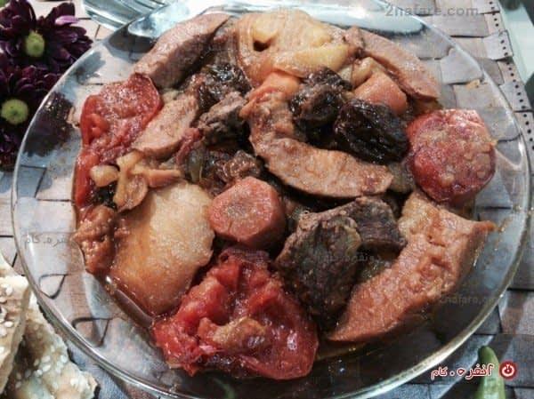 طرز تهیه تاس کباب سنتی