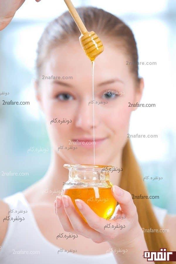 عسل برای پوست خشک