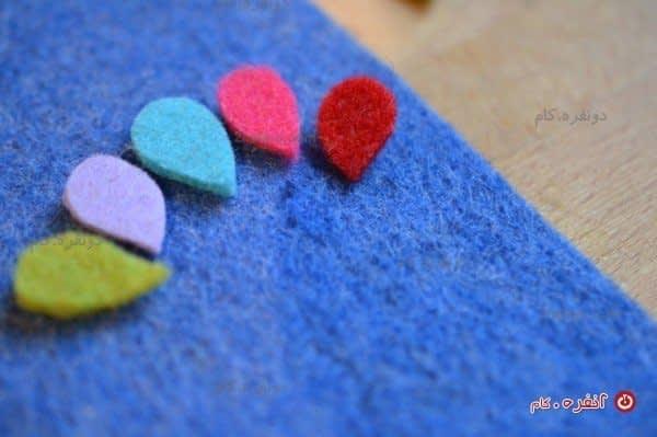 بادکنک های رنگی برای کیف گوشی