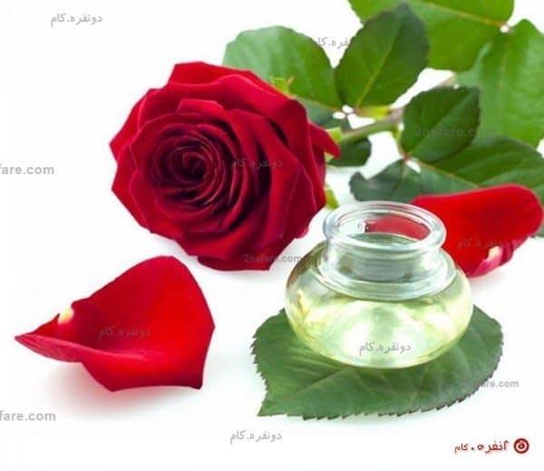 گلاب برای روشن شدن پوست