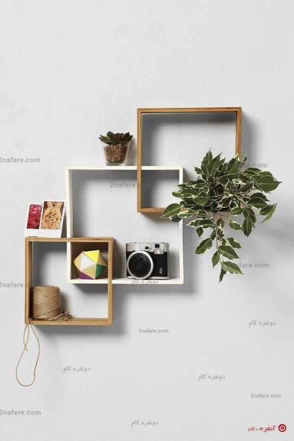 قفسه های دکوری مربعی