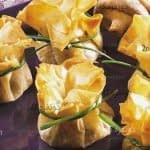 طرز تهیه بقچه های پنیری یوفکا