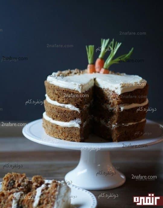 طرز تهیه کامل کیک هویج