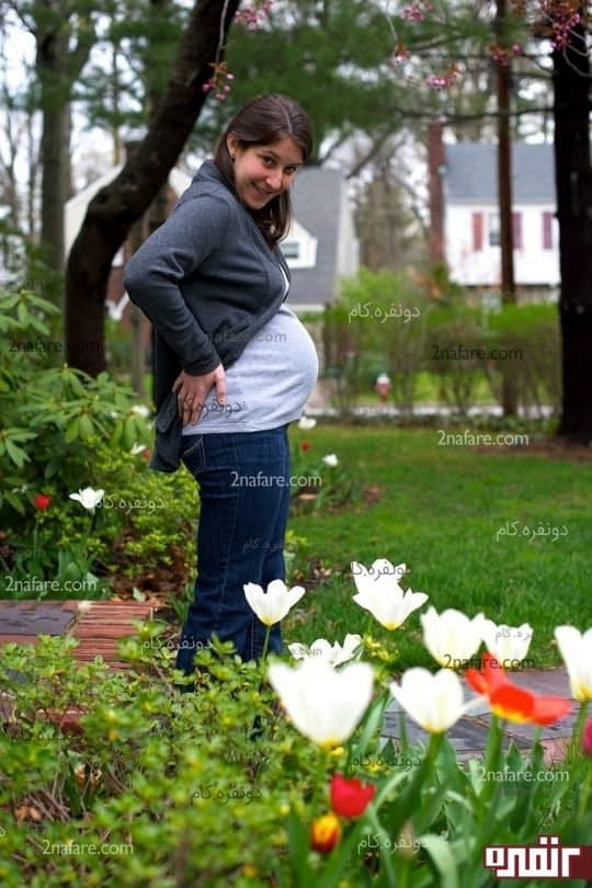مزایای پیاده روی در بارداری