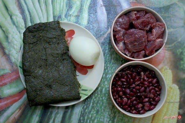 مواد لازم برای تهیه قورمه سبزی