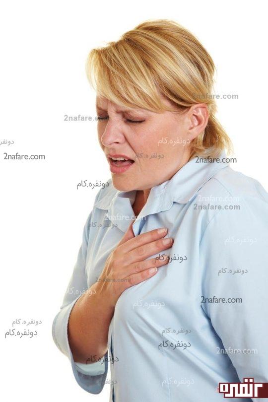 تب و تنگی نفس در دوران بارداری
