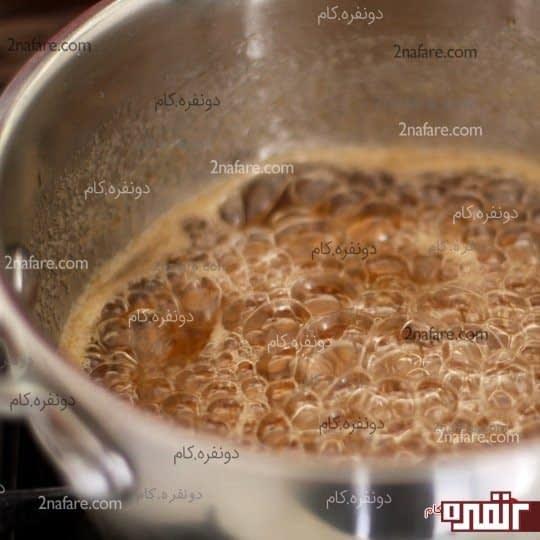 تهیه شهد باقلوا