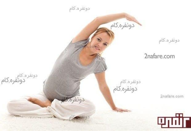 حرکات کششی مجاز در بارداری