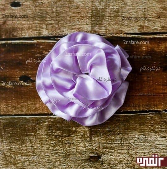 ساخت گل برای کادو پیچ
