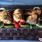 سبزی پلو با ماهی سفید و کوکو سبزی