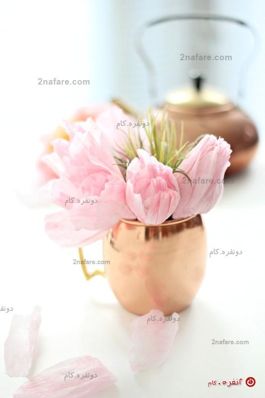 گل لاله رومیزی