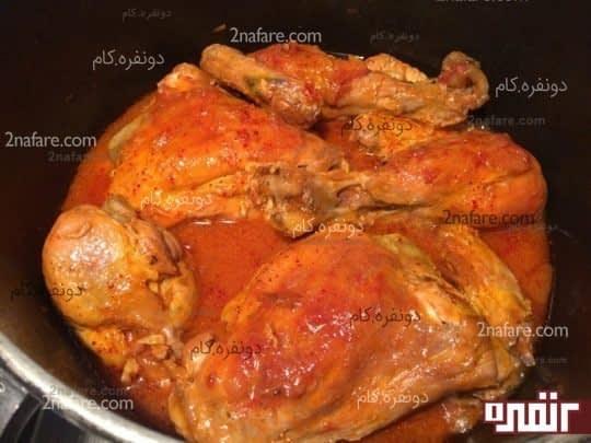 طرز تهیه خورشت مرغ